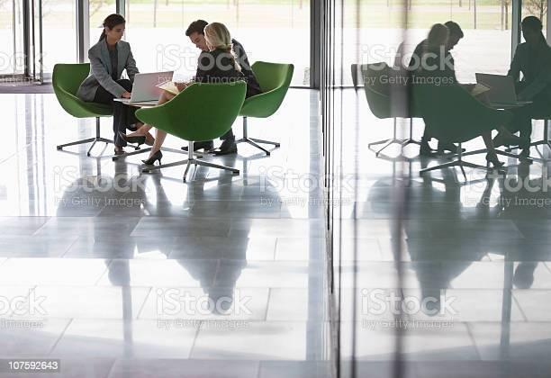 Three business people working at modern office cafeteria picture id107592643?b=1&k=6&m=107592643&s=612x612&h=xdxxbd4gcnbjajsabsgr2aa43dcnz9mzu1 qxpncfn4=