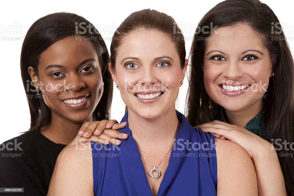 three business women stock photo