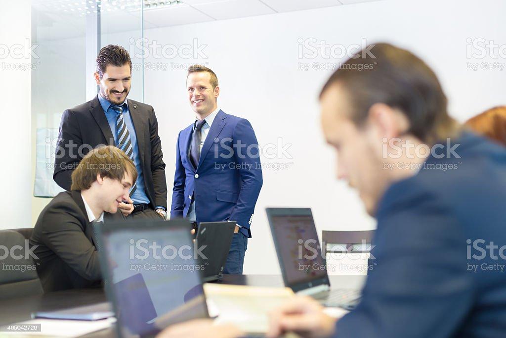 Business-Leute in modernen Büro. Lizenzfreies stock-foto