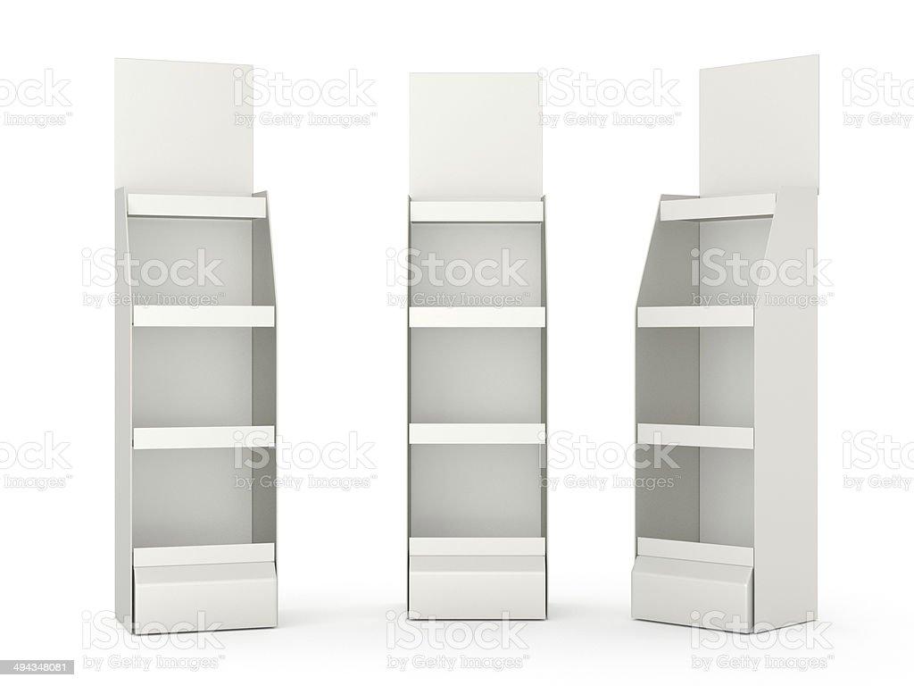 Tres cartonboard muestra - foto de stock
