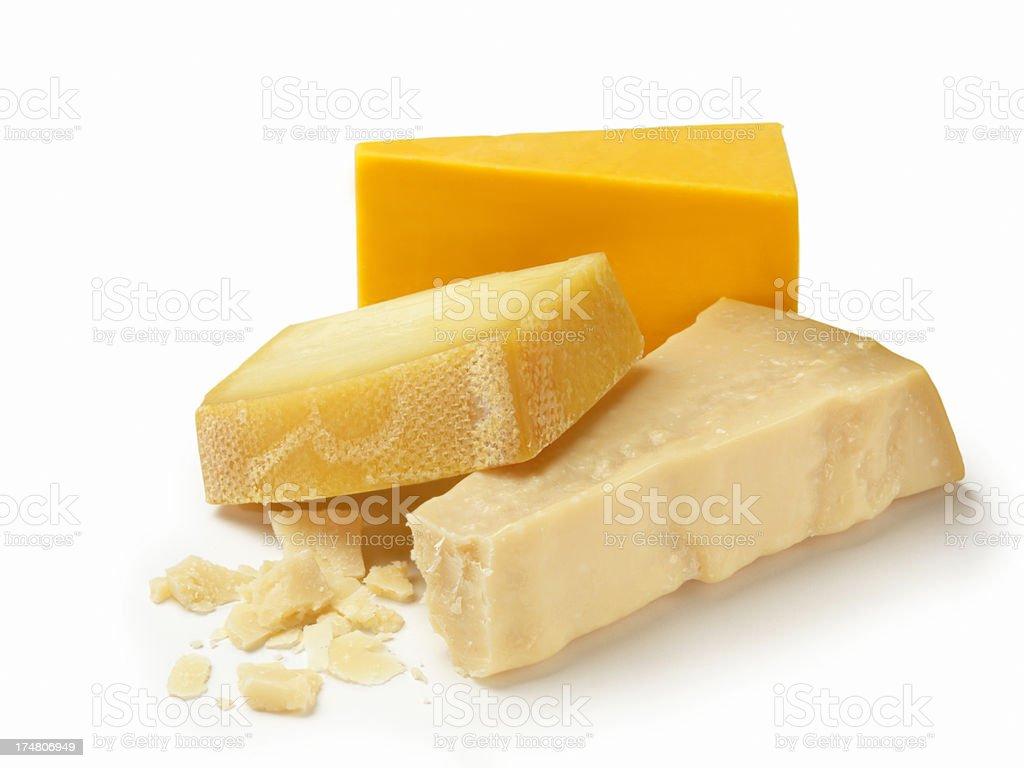 Tre di formaggio - foto stock