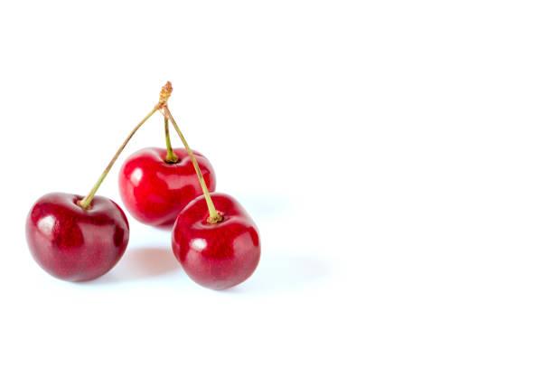 drei kirschen - essensrezepte stock-fotos und bilder