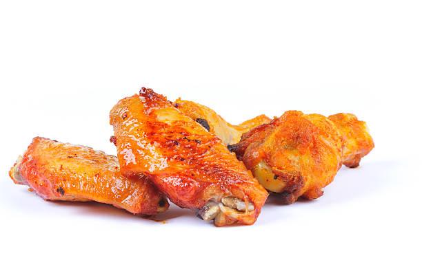 Asas de frango - foto de acervo