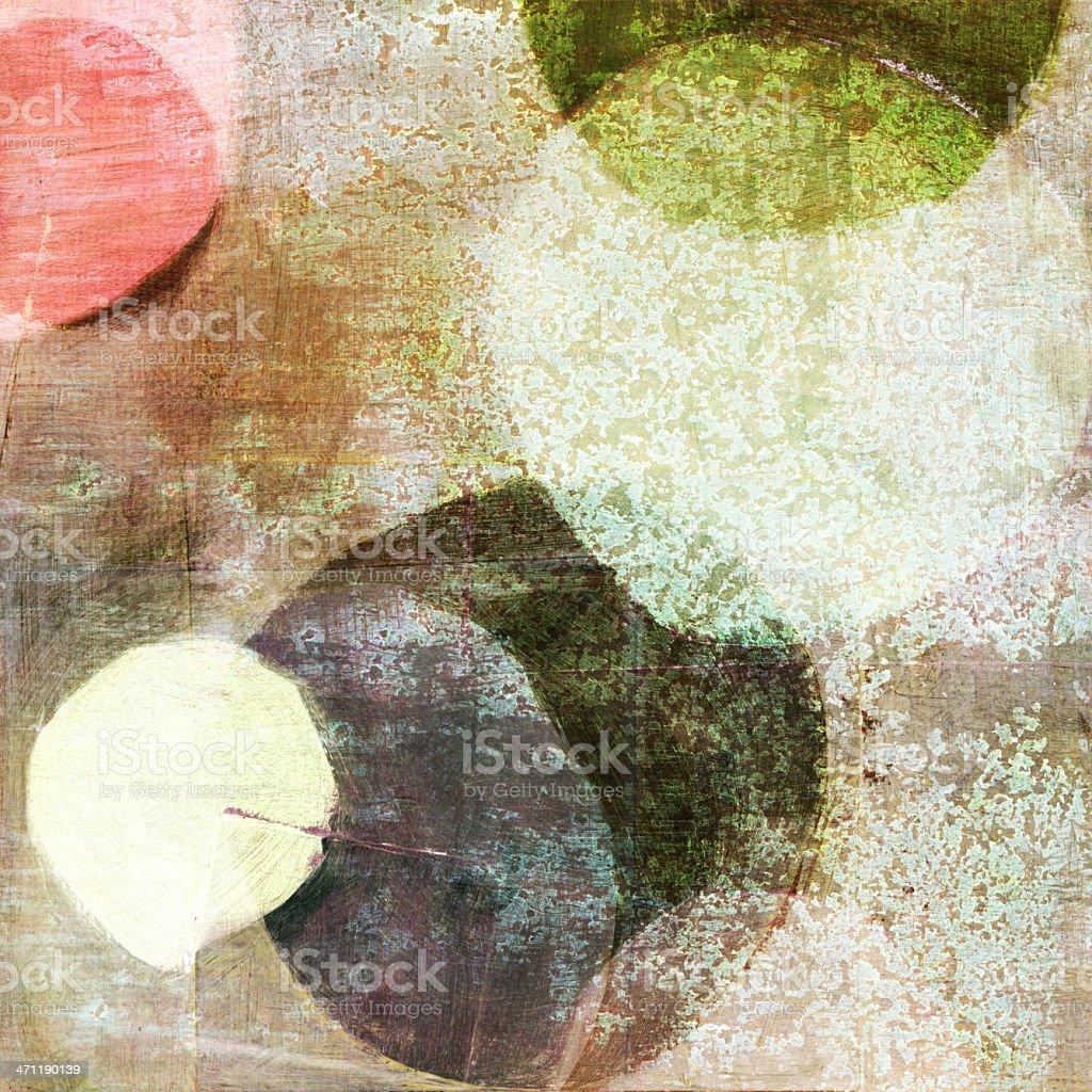 Three Circle Abstract stock photo