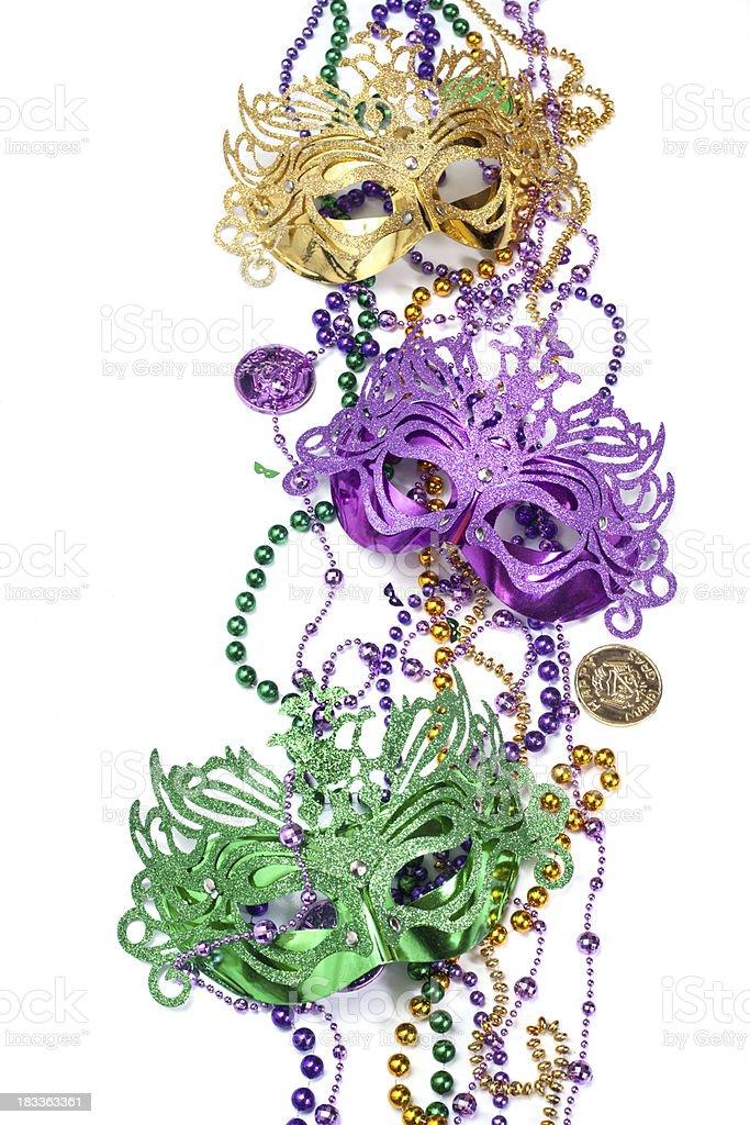 Three Colorful Masks royalty-free stock photo