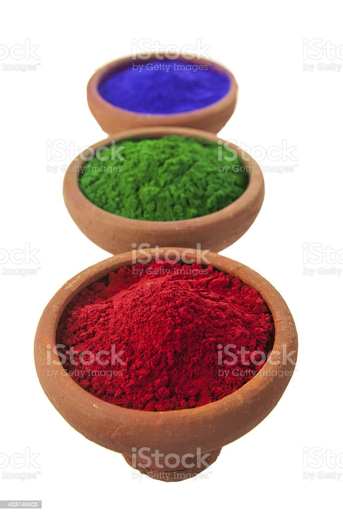 Three Colors royalty-free stock photo