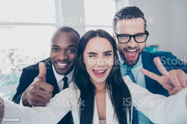 Three comic funny crazy partners colleagues having fun men with picture id933838096?b=1&k=6&m=933838096&s=612x612&h=awbdcgp612dpjianyozfs8h7hrlhol ucipkmvyjaue=