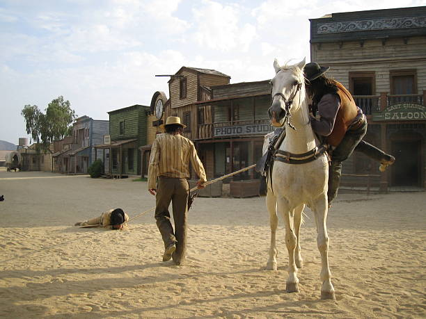 "three cowboy ...:::far west series""::.. - non urban scene stock photos and pictures"