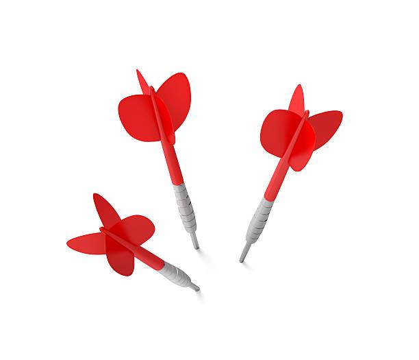 Three Darts stock photo