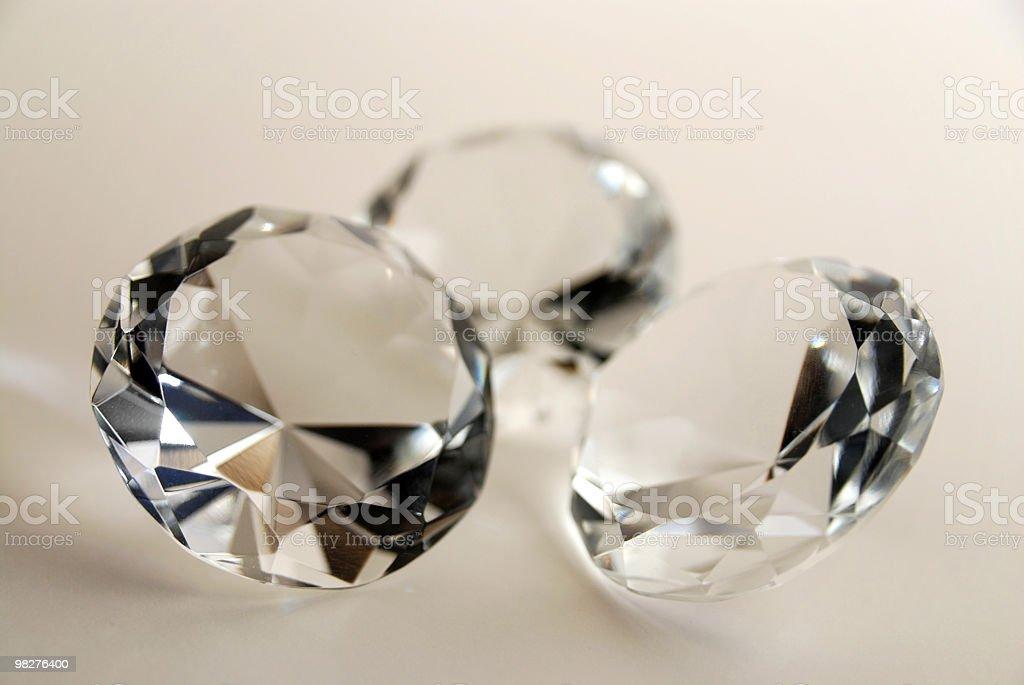 다이아몬드 3 royalty-free 스톡 사진