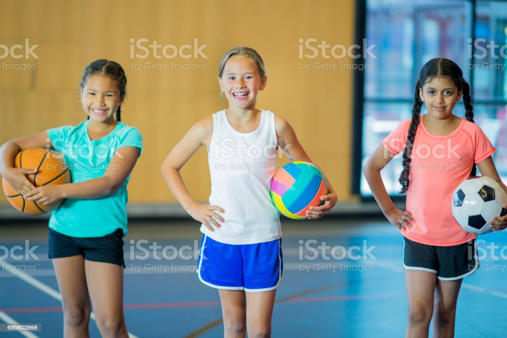 Three Different Sports stock photo
