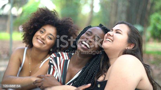 700702502istockphoto Three Diverse Friends Portrait 1054688154