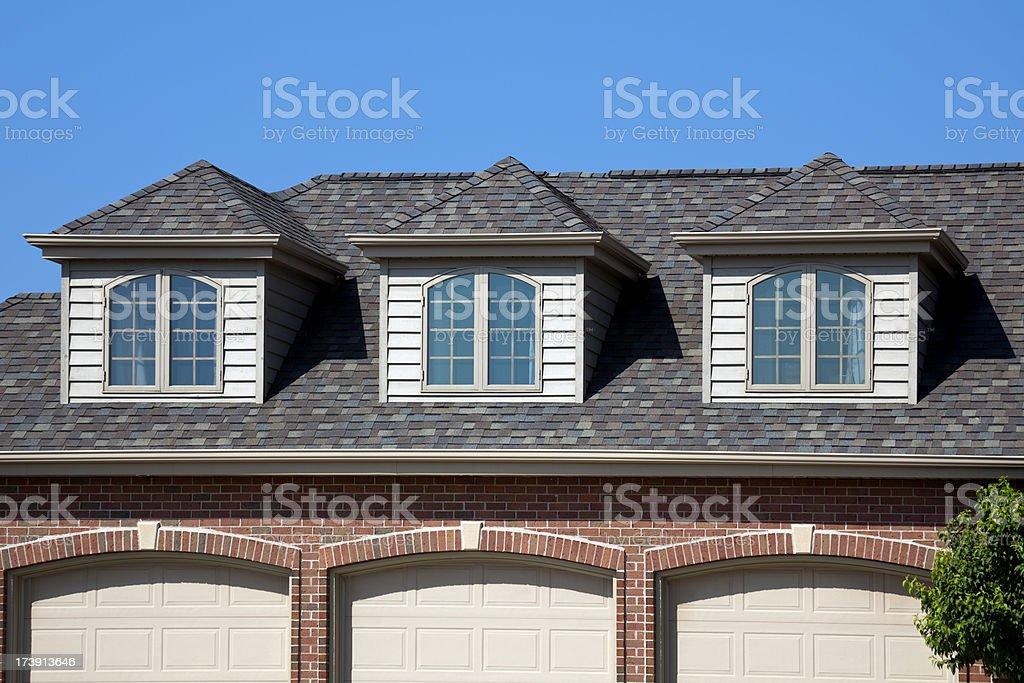 Three Dormers stock photo