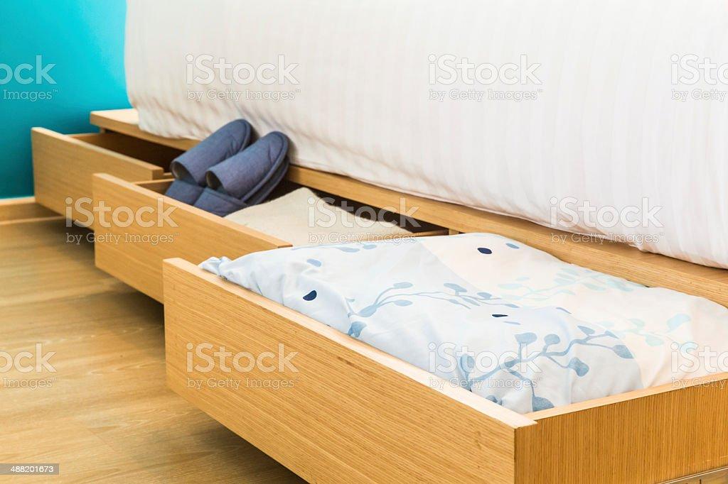 three drawers stock photo