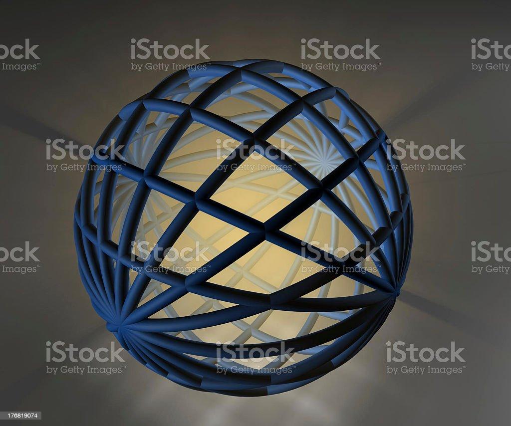 Three D,sphere stock photo