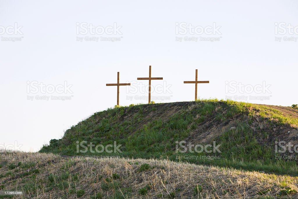 Three Easter Crosses