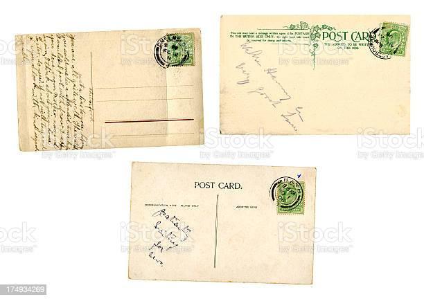 Three Edwardian postcards