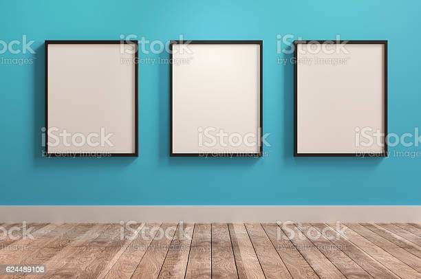 Drei Leere Rahmen Stockfoto und mehr Bilder von Abstrakt