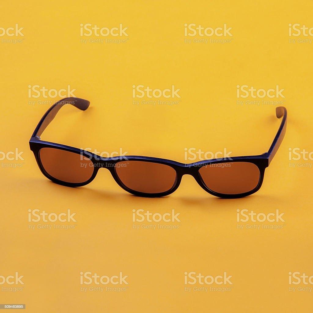 three eyed sunglasses stock photo