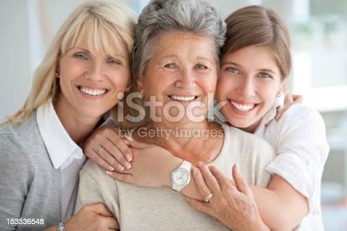 istock Three female generations. 153536548