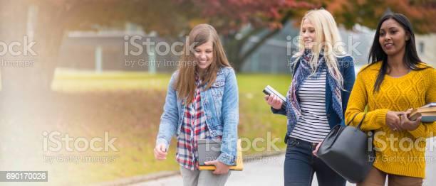 Three female studens walking through park picture id690170026?b=1&k=6&m=690170026&s=612x612&h=fkovijfla3x9lpfu75ufdg9qklkeamf3ep1ul6ul6lo=