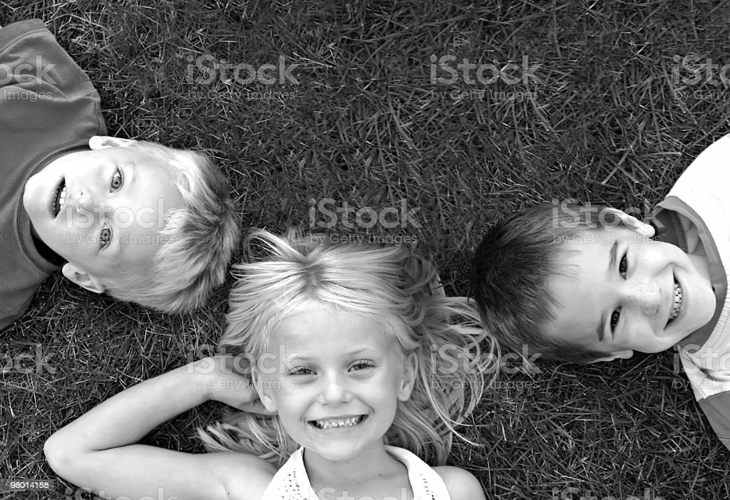 Three Friends royalty free stockfoto