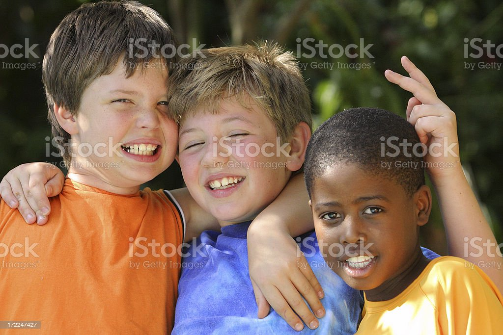 Three Friends two royalty-free stock photo