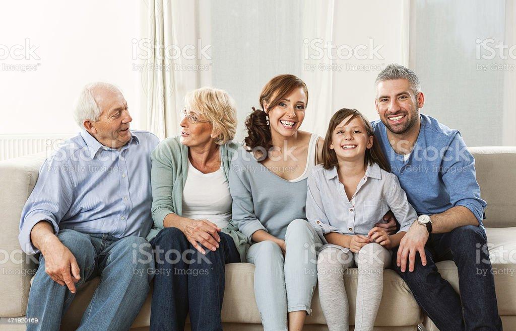Three generation family - Royalty-free 30-39 Years Stock Photo