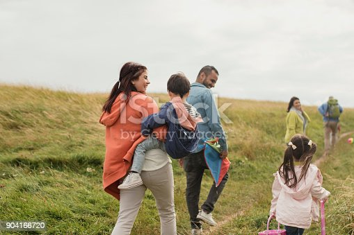 istock A Three Generation Out Walking 904166720