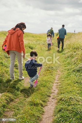istock Three Generation Out Walking 904170954