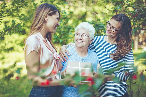 Cтоковое фото Три поколения