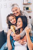 istock Three Generation women 1083098156