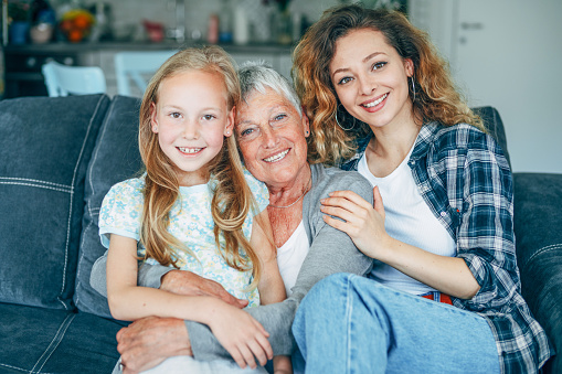 1088637186 istock photo Three Generation women 1152066768