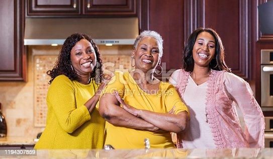 istock Three generations, African-American women 1194307859