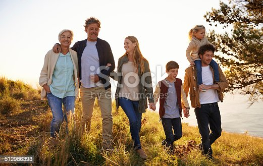 istock Three generations of happiness 512986393