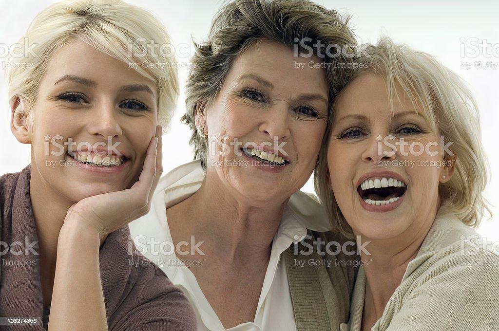 Drei Generationen von Frauen – Foto