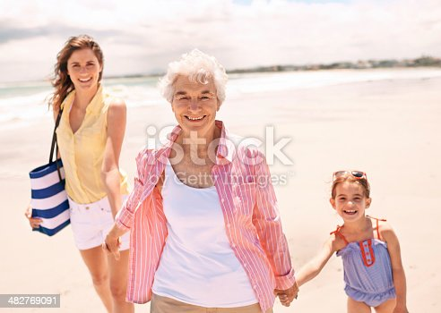 istock Three generations of wonderful women 482769091