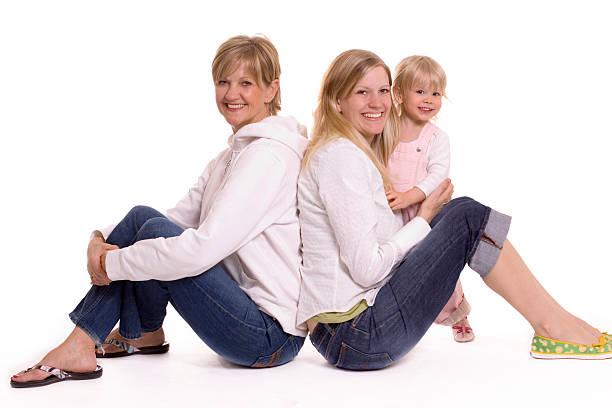 Three Generations stock photo
