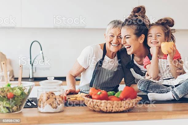 Three generations women laughing in the kitchen picture id638984280?b=1&k=6&m=638984280&s=612x612&h=pikt dc vhpricjtwukdzedjbo2n0hhluynqlse1rqw=