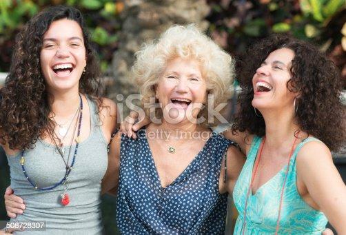 916556066istockphoto Three Generations Women 508728307