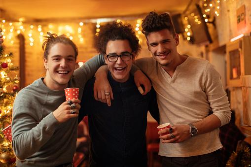 istock Three guys posing and looking at camera 1093389444