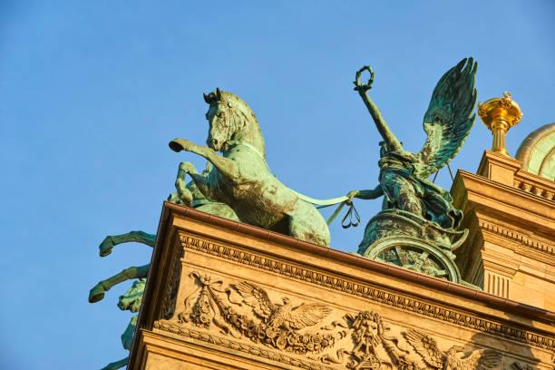 Three horse chariot on top of prague national theater picture id638659482?b=1&k=6&m=638659482&s=612x612&w=0&h=yrbrhd6oklfuw1aoqtn07l6px9sbbtdsyhnqhknirr8=