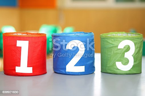 istock three jars with one two and three numbers 638921630