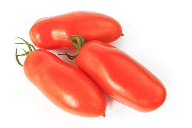 Drei ketchup Tomaten – Foto