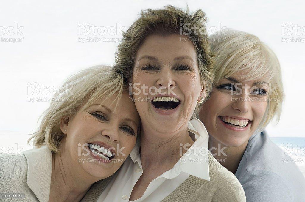 Three Ladies royalty-free stock photo