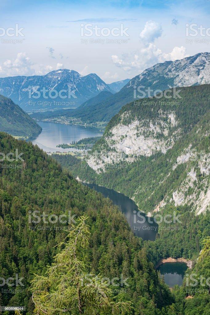 Three Lake View, Kammersee, Toplitzsee, Grundlsee, Ausseerland, Salzkammergut, Austria - Royalty-free Ausseerland Stock Photo