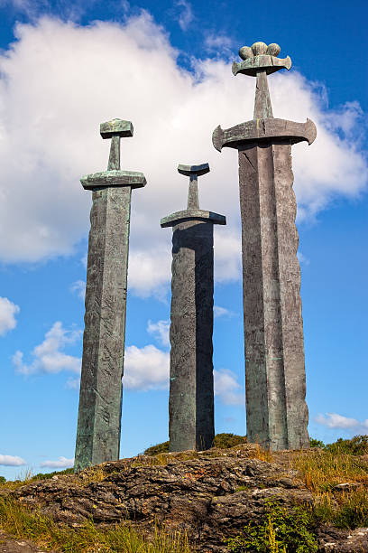 Three large swords – Foto