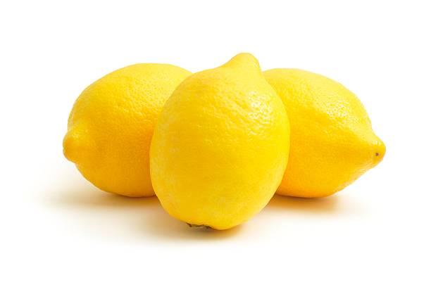 three lemons - citron bildbanksfoton och bilder