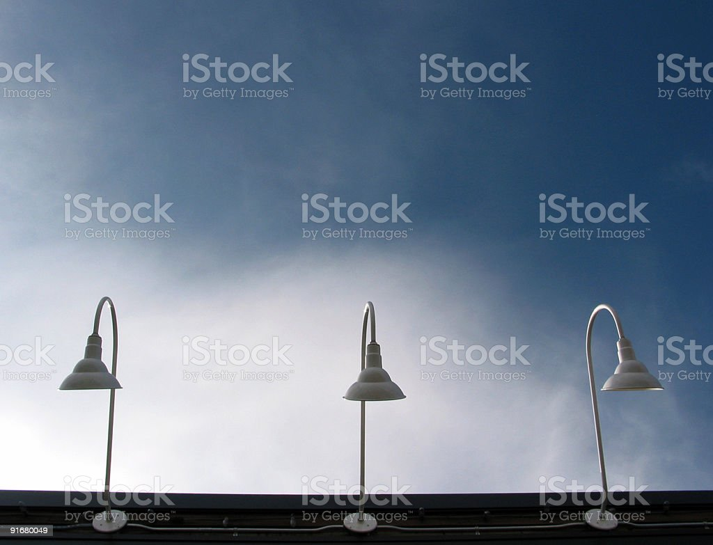 Three Lights royalty-free stock photo