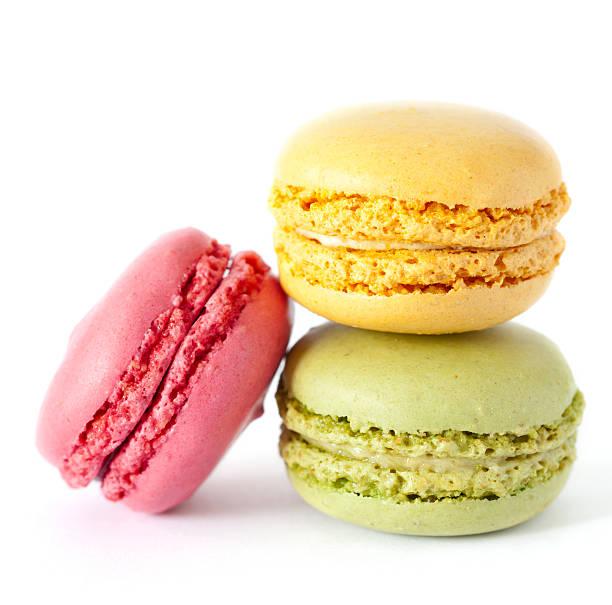 Drei Macaron – Foto